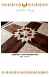 Carpenters Star Cross Wall Hanging Pattern by QuiltFox