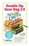 Double Zip Gear Bags 2.0 Pattern by Annie