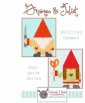 Gnomeo & Juliet Mini Quilt Series Pattern by Kelli Fannin