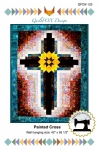 Painted Cross Wall Hanging Pattern by QuiltFox