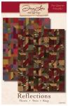 Reflections Quilt Pattern by Doug Leko Antler Quilt Design