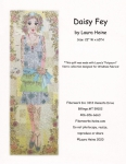 Daisy Fey Collage Pattern by Laura Heine