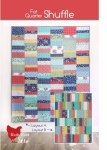 Fat Quarter Shuffle Quilt Pattern by Cluck Cluck Sew