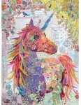 Nola...A Unicorn Collage Pattern by Laura Heine