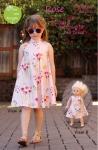 Rose Dress Pattern by  Olive Ann Designs