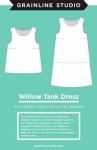 Willow Tank & Dress Pattern by Grainline Studio