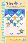 Fins All In! Quilt Pattern by Java House Quilts