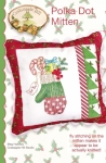 Polka Dot Mitten Pillow Pattern by CrabApple Hill