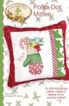 Polka Dot Mitten Pillow Pattern by Crab Apple Hill