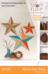 Wall Art Stars Pattern Fabriflair by Indygo Junction