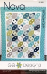 Nova Quilt Pattern by GE Designs