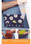 Pocketbook Wristlet Pattern Fabriflair by Indygo Junction