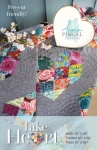 Take Heart Quilt Pattern by Angela Pingel Designs