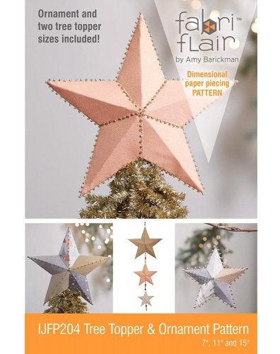 Tree Topper & Ornament Pattern Fabriflair  by Indygo Junction