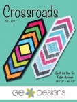 Crossroads Table Runner by GE Designs