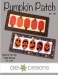 Pumpkin Patch Table Runner Pattern by GE Designs