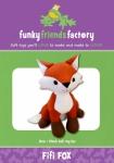 Fifi Fox Pattern by Funky Friends Factory