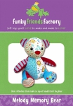 Melody Memory Bear Pattern by Funky Friends Factory