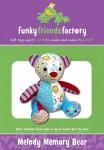 Melody Memory Bear Pattern by Funky Friends Factory