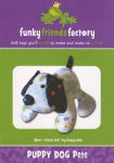 Puppy Dog Pete Pattern by Funky Friends Factory