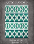 Aztec Diamond Quilt Pattern by Krista Moser