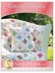 Cathedral Window Quilt & Pillow Pattern by Shabby Fabrics