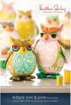 Heather Bailey Sewing Patterns: Edgar Owl & Poe Pattern