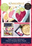 CD - That's Sew Chenille: Fruit Stand Hot Pads CD by KimberBell Designs