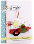 Happy Camper Ornament Needlecraft Kit by Jennifer Jangles