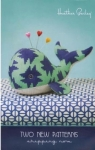 Heather Bailey Sewing Patterns: Seymour Spyhop Whale Pincushion