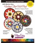 Folded Star-Hot Pad-Round by Plum Easy Patterns