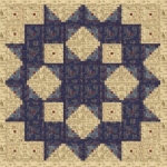 Laundry Basket Quilt Patterns: North Star by Edyta Sitar