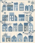 Winter Village Quilt Pattern by Laundry Basket Quilts
