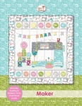 Maker Wall Hanging Pattern by Cherry Blossoms Quilting Studio