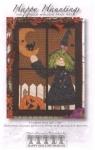 Happy Hauntings Halloween Window Pane Pattern by Tamara Carlson