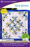 Nine Sisters Quilt Pattern by Cozy Quilt Designs