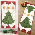 Cut Loose Press - Pine Tree Banner or Table Runner