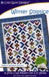 Winter Solstice Quilt Pattern by Cozy Quilt Designs