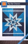 Big Star Chevron Quilt Pattern by Hunter