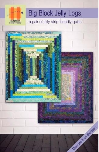 Big Block Jelly Logs Quilt Pattern By Hunters Design Studio
