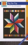 Big Star Pop Quilt Pattern by Hunter
