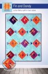 Fin and Dandy Quilt Pattern by Hunter