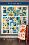 Backslash Quilt Pattern by Robin Pickens