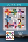 Definite Plus Quilt Pattern by Robin Pickens
