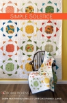 Simple Solstice Quilt Pattern by Robin Pickens