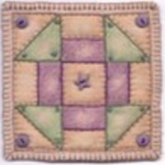 Clearance - Sew Special Charm 03 Shoo-Fly by Chickadee Hollow Designs