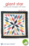 Giant Star Quilt Pattern by Cozy Quilt Designs