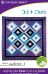 Ins & Outs Quilt Pattern by Cozy Quilt Designs