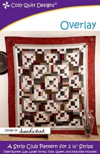 Overlay Quilt Pattern By Cozy Quilt Designs 738676626681