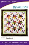Revolution Quilt Pattern by Cozy Quilt Designs